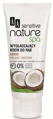 AA SENSITIVE NATURE SPA KOKOS wygładzający krem do rąk 100 ml