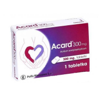 ACARD 300 mg 1 tabletka