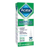 ACATAR HYDROCARE [FAST] spray do nosa 20 ml