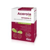 ACEROLA PLUS 60 tabletek do ssania Nutro Pharma