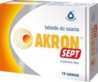 AKRON SEPT 16 tabletek do ssania