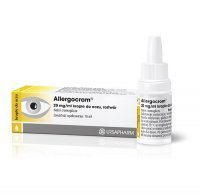 ALLERGOCROM 20 mg/ml krople do oczu 10 ml