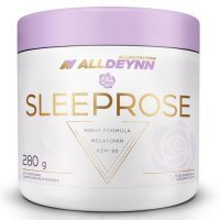 ALLNUTRITION ALLDEYNN SleepRose melatonina ashwaganda dobry sen smak lemon orange proszek 280 g