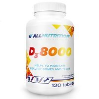 ALLNUTRITION D3 8000 120 tabletek