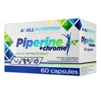 ALLNUTRITION Piperine+ chrome 60 kapsułek