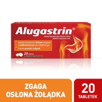ALUGASTRIN 20 tabletek do ssania