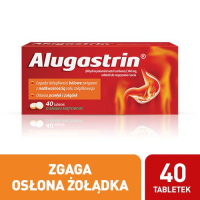 ALUGASTRIN 40 tabletek do ssania