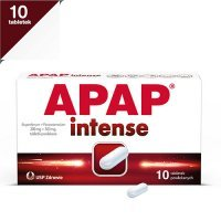 APAP INTENSE 200 mg + 500 mg 10 tabletek