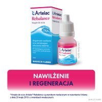 ARTELAC REBALANCE krople do oczu 10ml