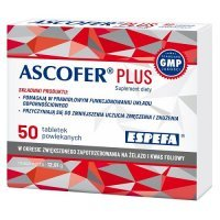 ASCOFER PLUS 50 tabletek