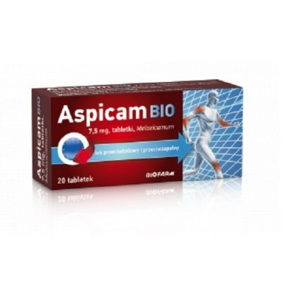 ASPICAM BIO 7,5 mg 20 tabletek