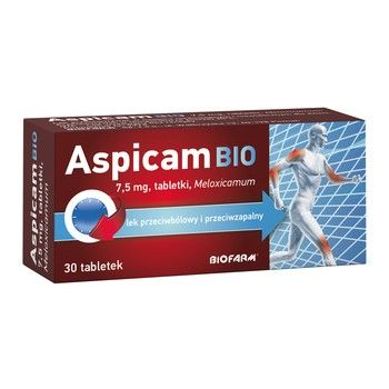 ASPICAM BIO 7,5 mg 30 tabletek