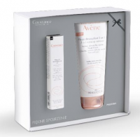 AVENE COUVRANCE Tusz do rzęs 7 ml + Fluid do demakijażu 3w1  200 ml