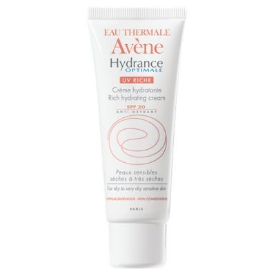 AVENE HYDRANCE OPTIMALE UV RICHE krem nawilżający SPF20 40 ml