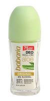 BABARIA dezodorant 20% czystego aloesu roll-on 75ml