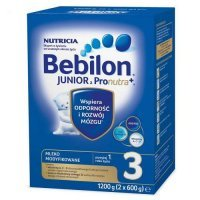 BEBILON 3 JUNIOR PRONUTRA+ mleko 1200 g