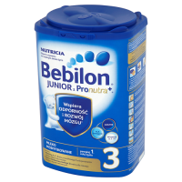 BEBILON 3 JUNIOR PRONUTRA+ mleko  800 g