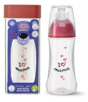 BIBI SWISS HAPPINESS MAMA butelka antykolkowa 260 ml