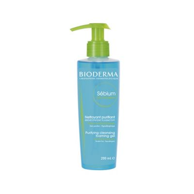 BIODERMA SEBIUM GEL MOUSSANT żel 200 ml Z POMPKĄ