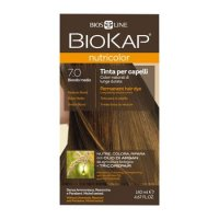 BIOKAP Nutricolor 7.0 Średni Blond 140ml
