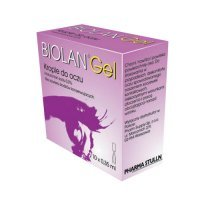 BIOLAN GEL 0,3% krople do oczu 10 minimsów po 0,35 ml