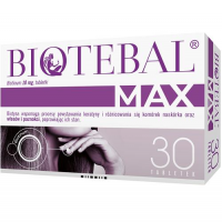 BIOTEBAL MAX 10 mg 30 tabletek