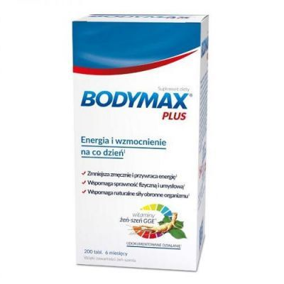 BODYMAX PLUS 200 tabletek