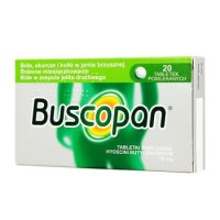 BUSCOPAN 10 mg 20 tabletek