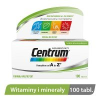 CENTRUM KOMPLETNE od A do Z 100 tabletek