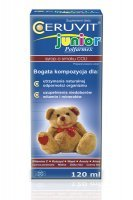 CERUVIT JUNIOR syrop o smaku coli 120 ml