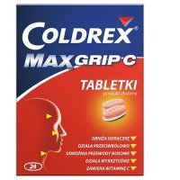 COLDREX MAXGRIP C 24 tabletki