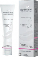 DENTISSIMO SWISS BIODENT Pasta do zębów PREGNANT LADY & YOUNG MUM 75 ml