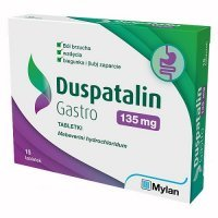 DUSPATALIN GASTRO 135 mg 15 tabletek