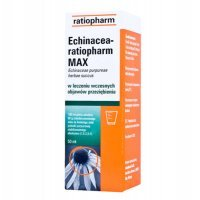 ECHINACEA RATIOPHARM MAX krople 50 ml