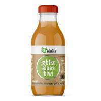 EKAMEDICA FOOD Sok 100% Jabłko Aloes Kiwi 300 ml