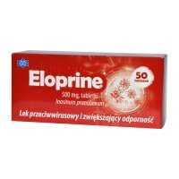 ELOPRINE 500 mg 50 tabletek