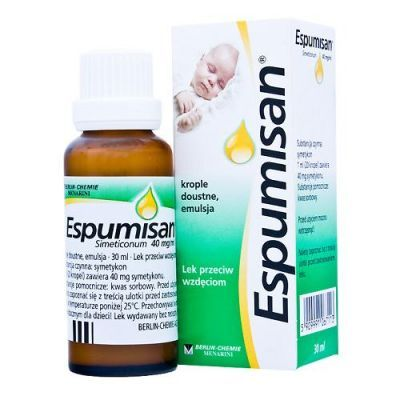ESPUMISAN 40 mg/1 ml krople 30 ml