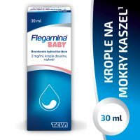 FLEGAMINA BABY krople 60 mg/30ml  30 ml