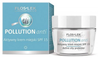 FLOS-LEK POLLUTION ANTI Aktywny krem miejski SPF15 50 ml