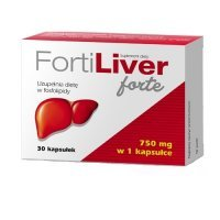 FORTILIVER FORTE 75 mg 30 kapsułek