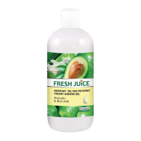 FRESH JUICE Kremowy żel pod prysznic AVOCADO & RICE MILK 500ml