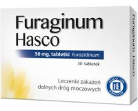 FURAGINUM HASCO 50 mg 30 tabletek