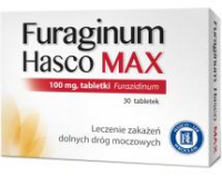 FURAGINUM HASCO MAX 100 mg 30 tabletek