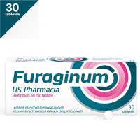 FURAGINUM US PHARMACIA 50 mg 30 tabletek
