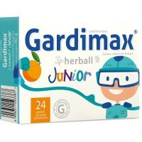 GARDIMAX HERBALL JUNIOR 24 pastylki do ssania