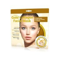 GLYSKINCARE GOLD COLLAGEN FACIAL MASK kolagenowa maska ze złotem do twarzy