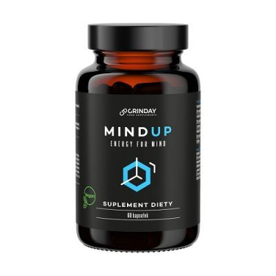 GRINDAY MIND UP ENERGY FOR MIND na pamięć i koncentrację 60 kapsułek