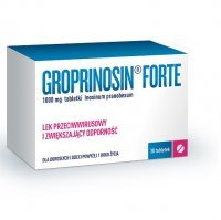 GROPRINOSIN FORTE 1000 mg 30 tabletek