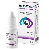 HEXOFTYAL krople do oczu 15 ml