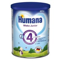 HUMANA 4 JUNIOR mleko 800 g